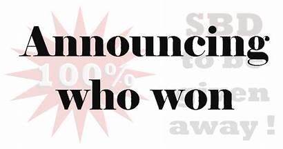 Give Week Last Winner Sbd Away Announcement
