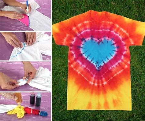 Tie Dye Your Summer With This Heart Pattern Technique