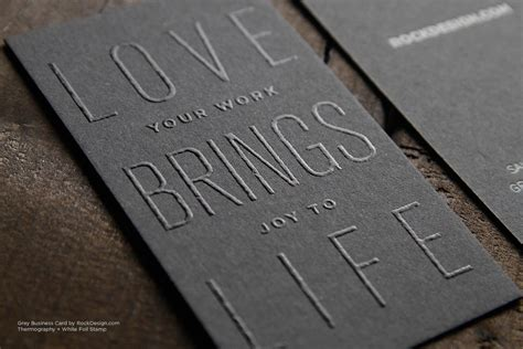 A gray card is an object of neutral color which reflects a certain amount of light. Gray Business Cards