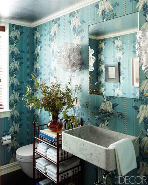 bathroom with wallpaper ideas 15 bathroom wallpaper ideas wall coverings for bathrooms