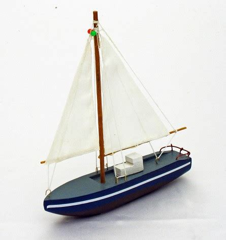 Sailboat Color by Wooden Sailboat Decorate In Style With Packages By