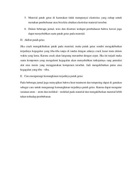 Analisis Perpatahan Getas (Cleavage Fracture Of Analysis