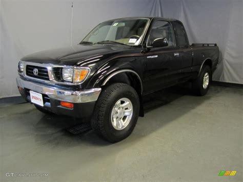 Toyota Tacoma 1995 by 1995 Satin Black Metallic Toyota Tacoma V6 Extended Cab