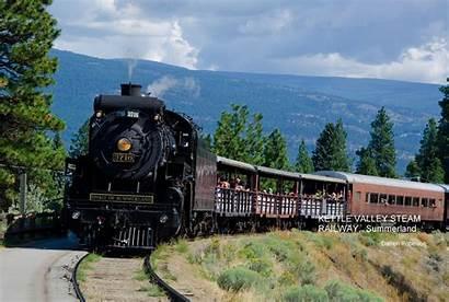Railway Kettle Valley Steam Summerland Train Western