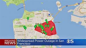 Widespread Power Outage Affects 20,000 In San Francisco ...