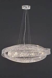 Next venetian light clear ceiling lighting chandelier