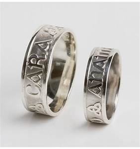 anam cara wedding band set made in ireland ardri jewellery With anam cara wedding rings