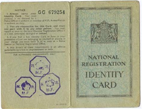 ww identity card
