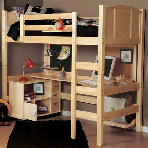 double bunk bed with desk the advantages of twin loft bed with desk and storage