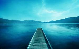 Blue, Photography, Lake, Water, Pier, Landscape, Wallpapers, Hd, Desktop, And, Mobile, Backgrounds