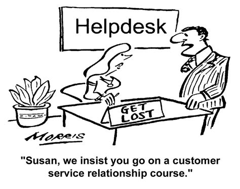 Customer Service Comic Strip