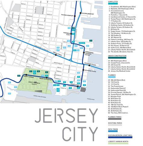 light rail nj map jersey city archpaper
