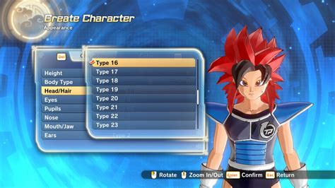 hypersonics  hair pack xenoverse mods