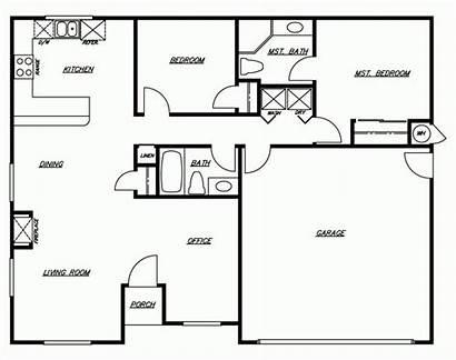 Floor Plan Plans Trends Homes Simple Modern