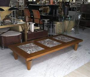 large rectangular coffee table on heavy legs with marble With large square marble coffee table