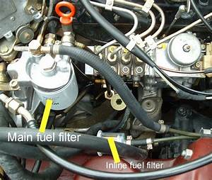 Help To Locate Fuel Filters 300d