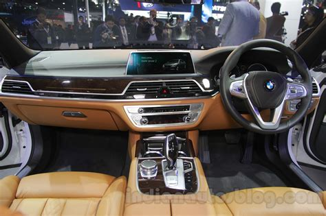2016 bmw dashboard 2016 bmw 7 series dashboard at auto expo 2016 indian