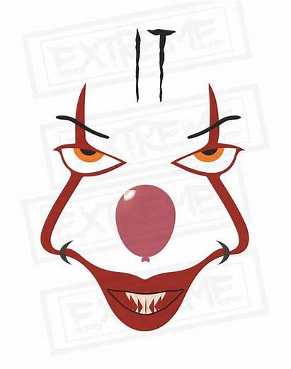 Pennywise Svg Clown Cricut Silhouette Cut Printable