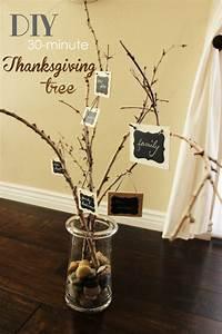 diy 30 minute thanksgiving tree thankfulness project