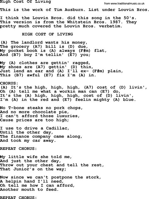High Cost Of Living  Bluegrass Lyrics With Chords. White Sofa Living Room Designs. Room For Living. Decorate Living Room Photos. Living Room Ideas Black. Living Room Curtain Ideas Pinterest. Pc In Living Room. Genuine Leather Living Room Sets. Zen Style Living Room Design