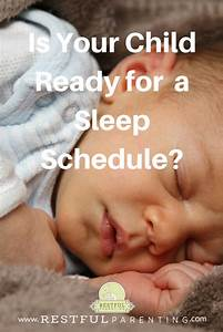 Is Your Child Ready for a Sleep Schedule?