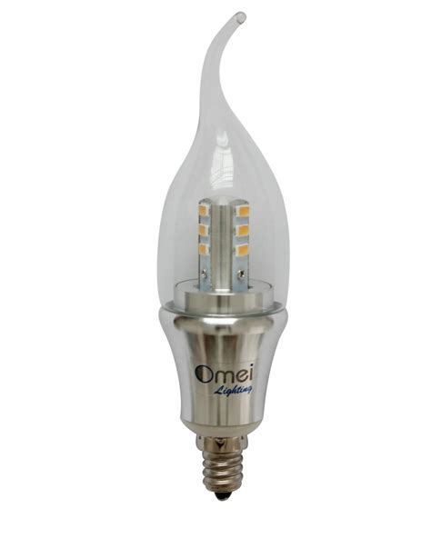 led candelabra bulb daylight dimmable 6 pack e12 6w 60w 60