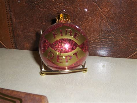 firefighter christmas ornament ornaments