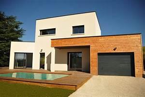 le projet ma maison pour demain par demeures caladoises With amenagement exterieur terrasse maison 1 construction de garage fugybat construction