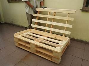 Fabriquer Un Lit En Palette : fabriquer un canap lit en palette int rieur de maison ~ Dode.kayakingforconservation.com Idées de Décoration