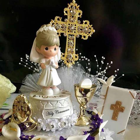 cross cake topper religious wedding baptism christening