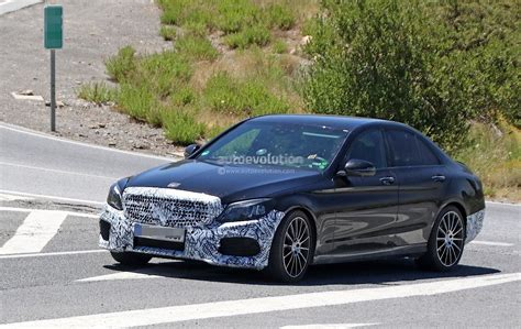 2018 Mercedesbenz Cclass W205 Facelift Has Slimmer