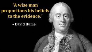 A wise man prop... Hume Quotes