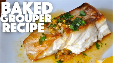 grouper fish baked recipe recipes keto dinner diet seafood treats healthy ketogenic test