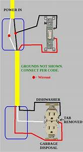 How Do You Wire A Garbage Disposal Switch
