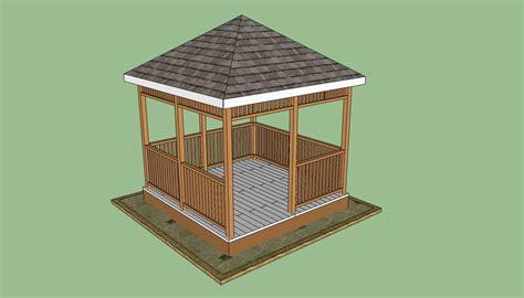 wooden gazebo plans howtospecialist   build step  step diy plans