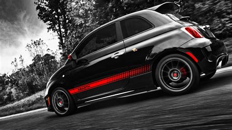 Fiat 500 Abarth Wallpaper by 1920x1080 Fiat 500 Abarth Side Angle Desktop Pc And Mac