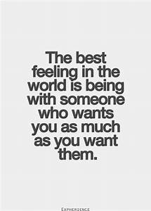 The best feelin... Amazing Feeling Love Quotes