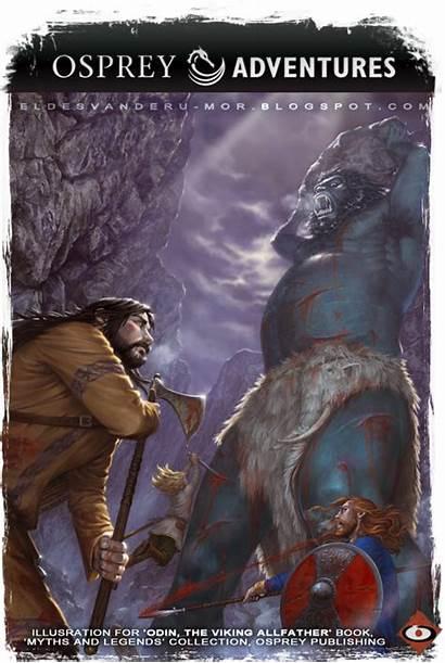 Osprey Viking Illustration Odin Publishing Adventures Ymir