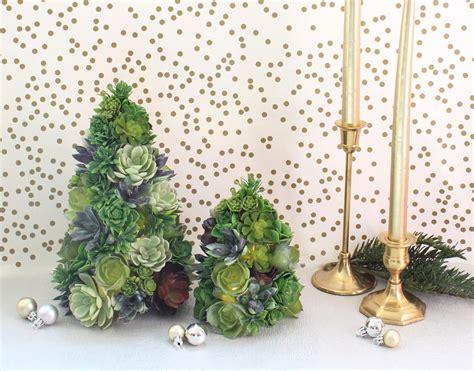 diy succulent christmas tree allfreechristmascraftscom