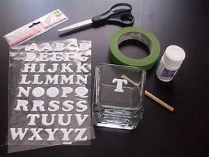 Glass etching stencils how to make in 25 ways guide for Etching letters on glass