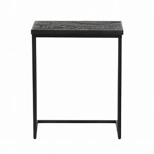 Beistelltisch Schwarz Holz : bepurehome beistelltisch sharing u form schwarz holz 55x45x35cm ~ Orissabook.com Haus und Dekorationen