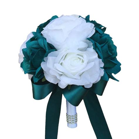 teal wedding bouquet 25 best ideas about teal centerpieces on teal 7931