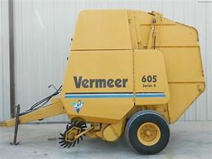 1997 Vermeer 605k Hay Equipment - Round Balers