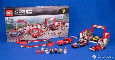 Lego speed champions 2018 ferrari ultimate garage! LEGO Speed Champions 75889 Ferrari Ultimate Garage Review | The Brothers Brick | The Brothers ...