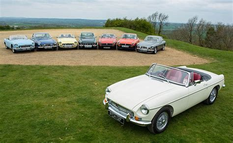 Britain's Classic Car Hotspots And Favourite Cars Revealed