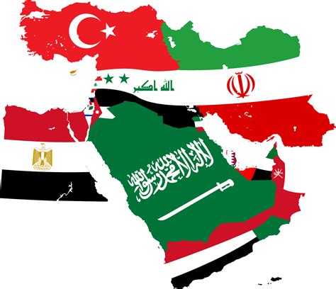 middle eastern flag map maps map south american flags