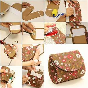 How to make your own beautiful designer money Pouch step