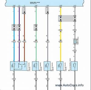 Diagram  2007 Lexus Ls4646l Electrical Wiring Diagram Service Shop Repair Ewd Full Version Hd