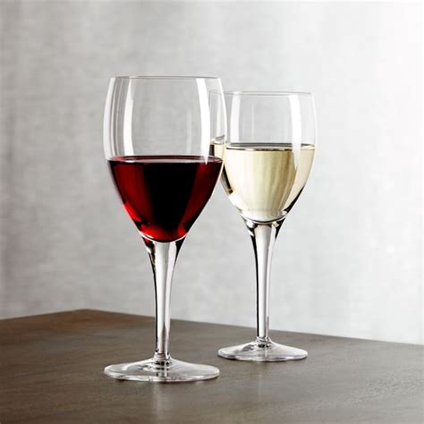 otis wine glasses crate  barrel