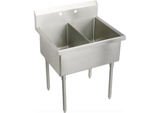 Stainless Steel Utility Sink With Legs by 10 Easy Pieces Outdoor Work Sinks Gardenista